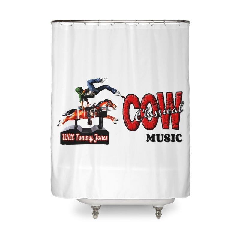 That Buckin' Will! Home Shower Curtain by Will's Buckin' Stuff