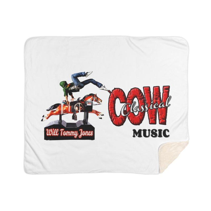 That Buckin' Will! Home Sherpa Blanket Blanket by Will's Buckin' Stuff