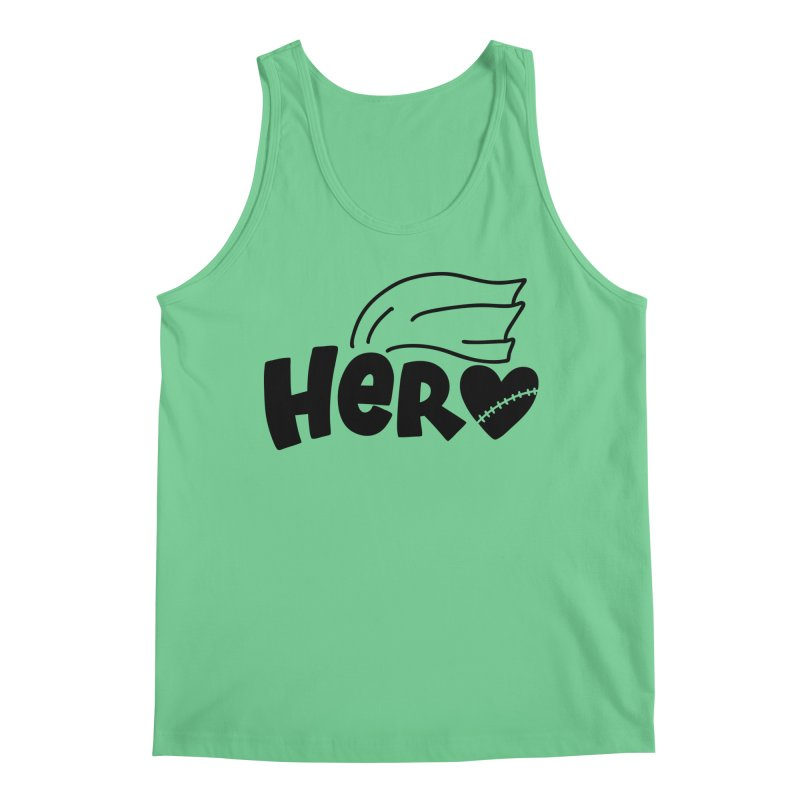 CHD/Heart Superhero (black) Men's Tank by With Hope and Grace