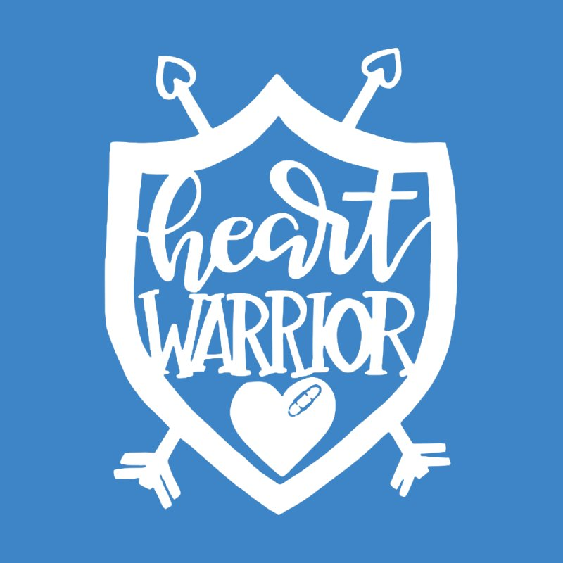 Heart Warrior Shield (white) Men's Tank by With Hope and Grace