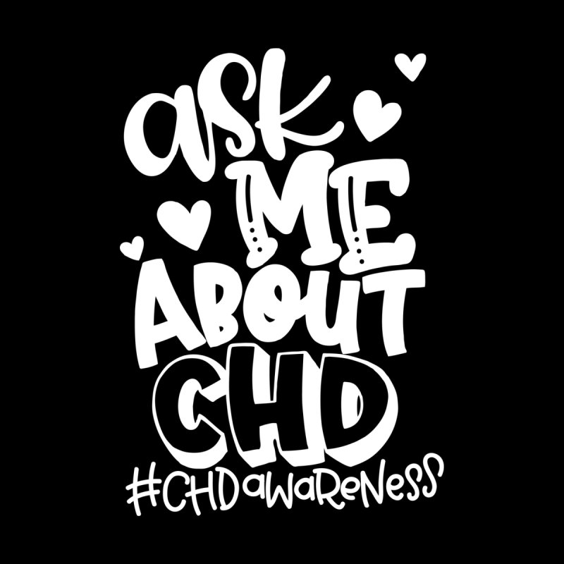 Ask me about CHD (white) Men's Tank by With Hope and Grace
