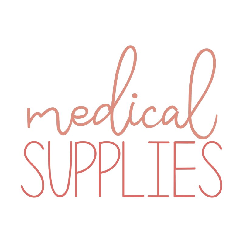 Medical Supplies Pouch (Coral) Accessories Zip Pouch by With Hope and Grace