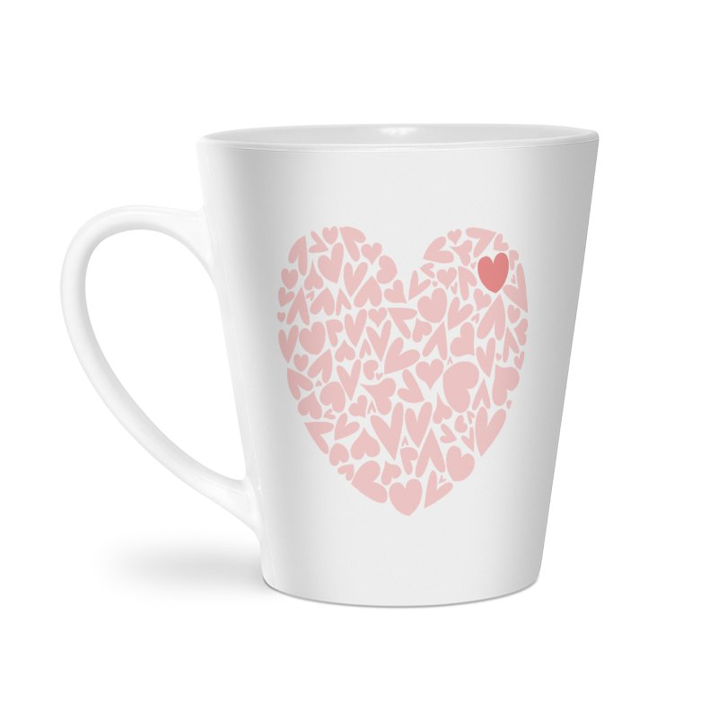 100 Hearts Pink Shirt | CHD Awareness | CHD Art Shirt Accessories Mug by With Hope and Grace