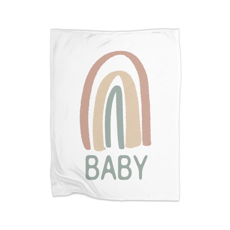 Rainbow Baby Home Blanket by With Hope and Grace