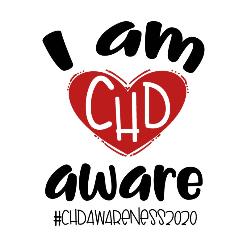 I am CHD Aware (Black) Home Blanket by With Hope and Grace