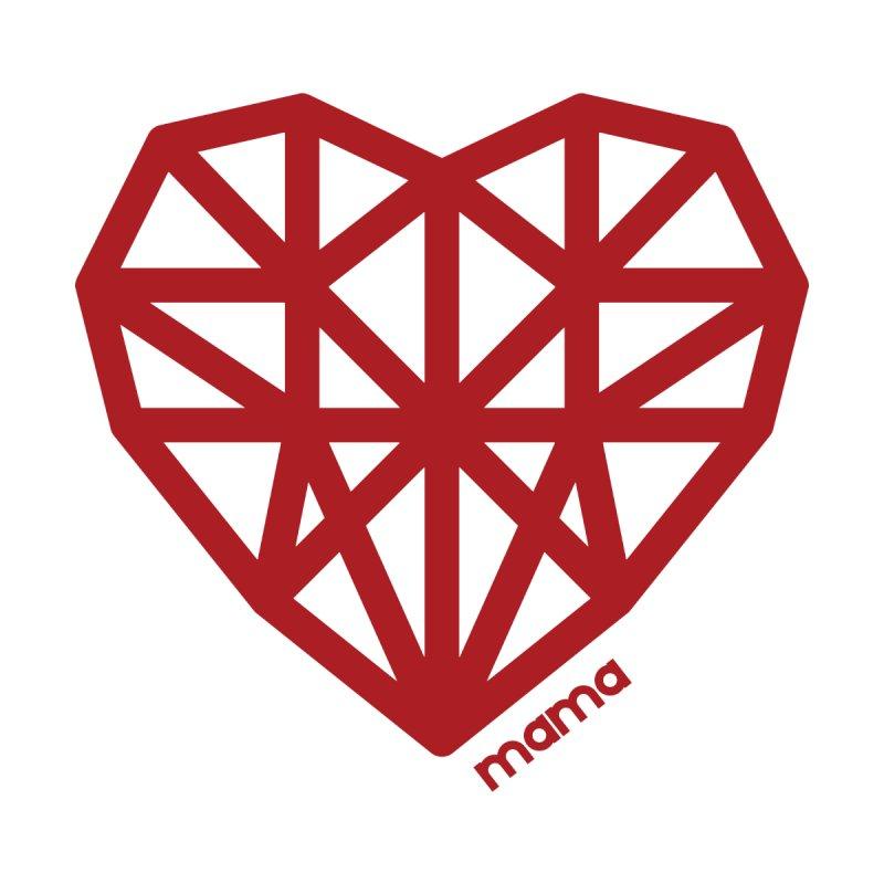 Geometric Heart Mama Shirt Accessories Mug by With Hope and Grace