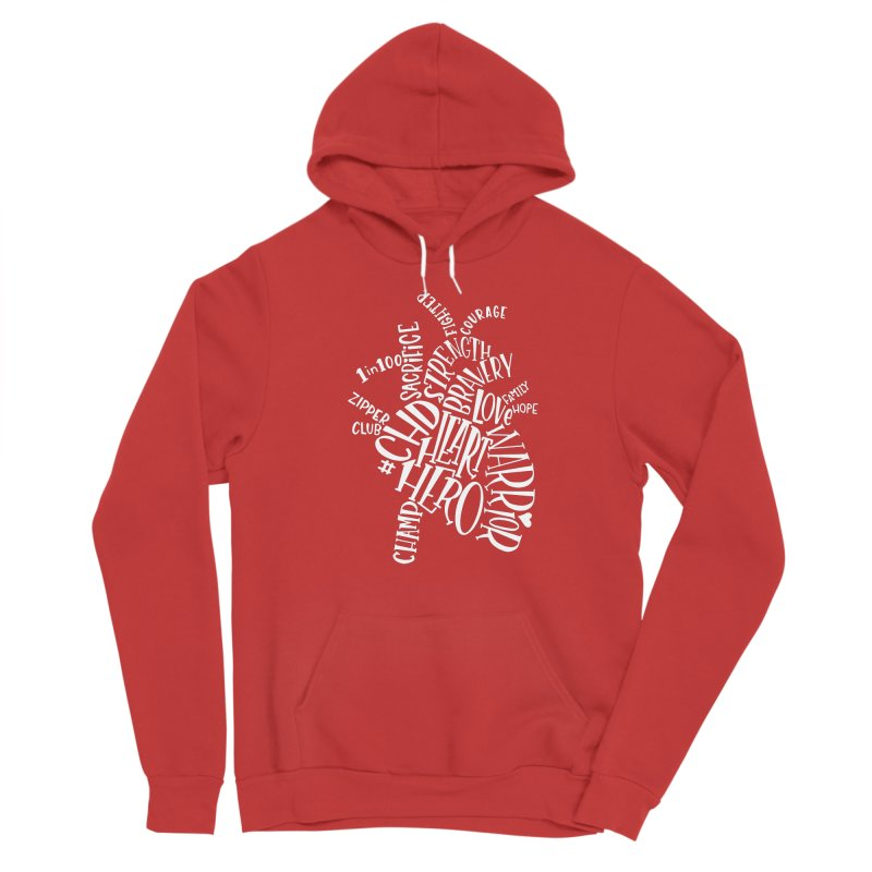 CHD Warrior Anatomical Heart Men's Pullover Hoody by With Hope and Grace