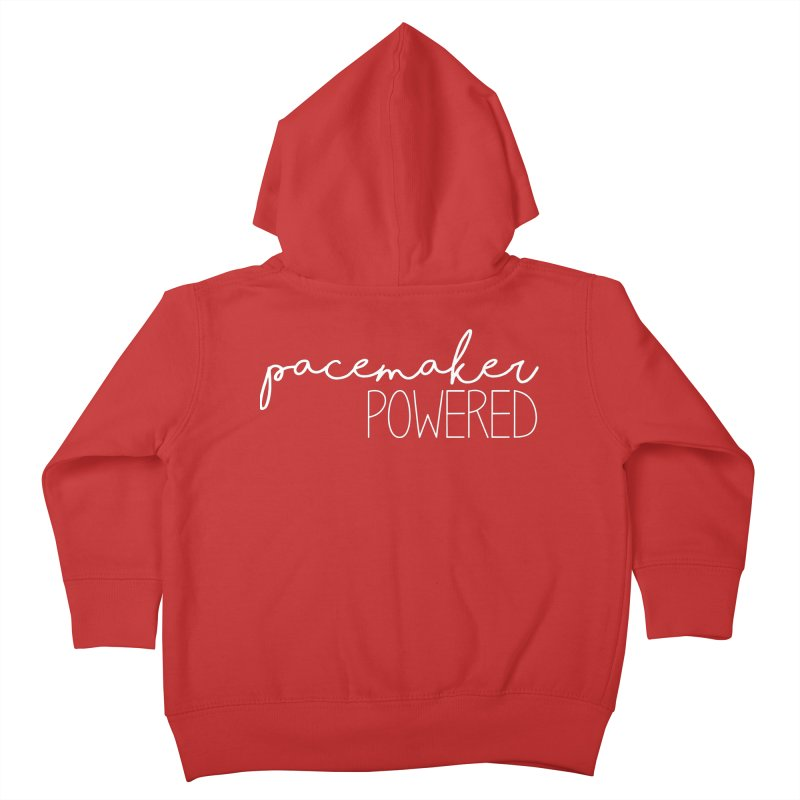 Pacemaker Powered Kids Toddler Zip-Up Hoody by With Hope and Grace