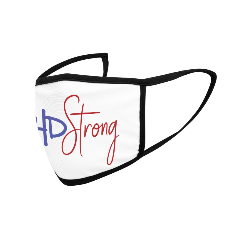CHD Strong facemask Accessories Face Mask by With Hope and Grace