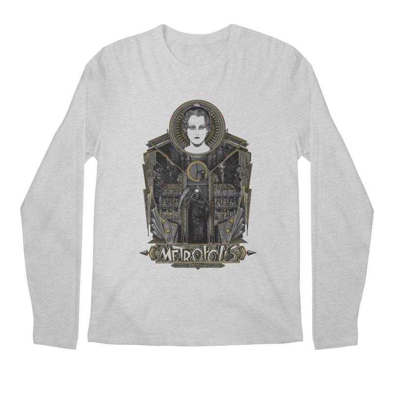 Metropolis Men's Longsleeve T-Shirt by Wiwitaek's Artist Shop
