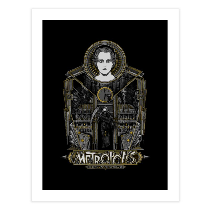 Metropolis Home Fine Art Print by Wiwitaek's Artist Shop