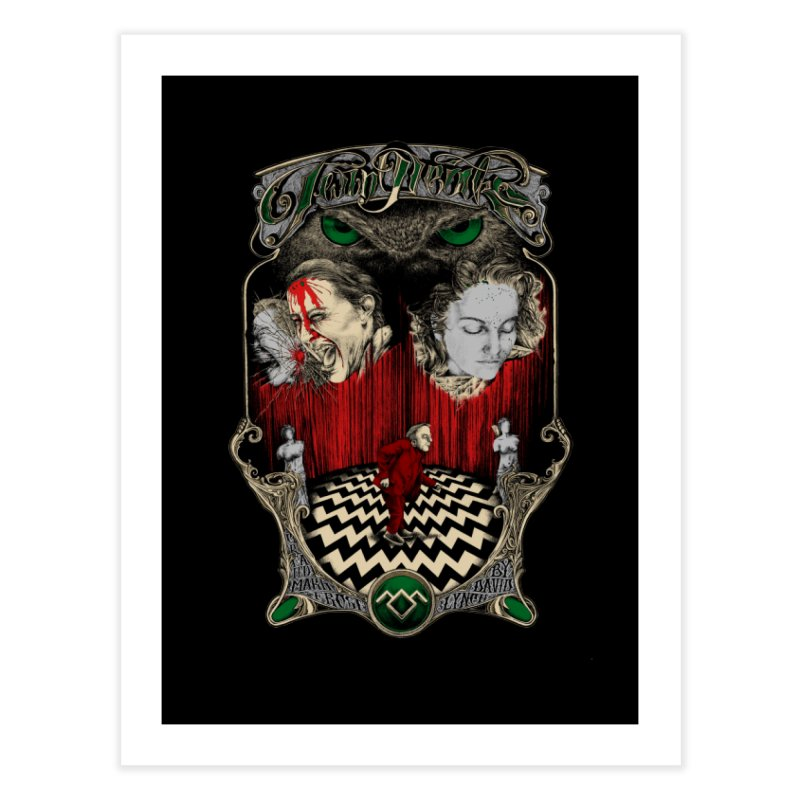 Twin Peaks Home Fine Art Print by Wiwitaek's Artist Shop