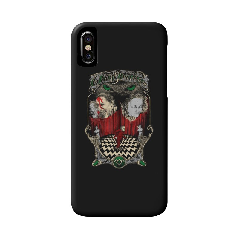 Twin Peaks Accessories Phone Case by Wiwitaek's Artist Shop