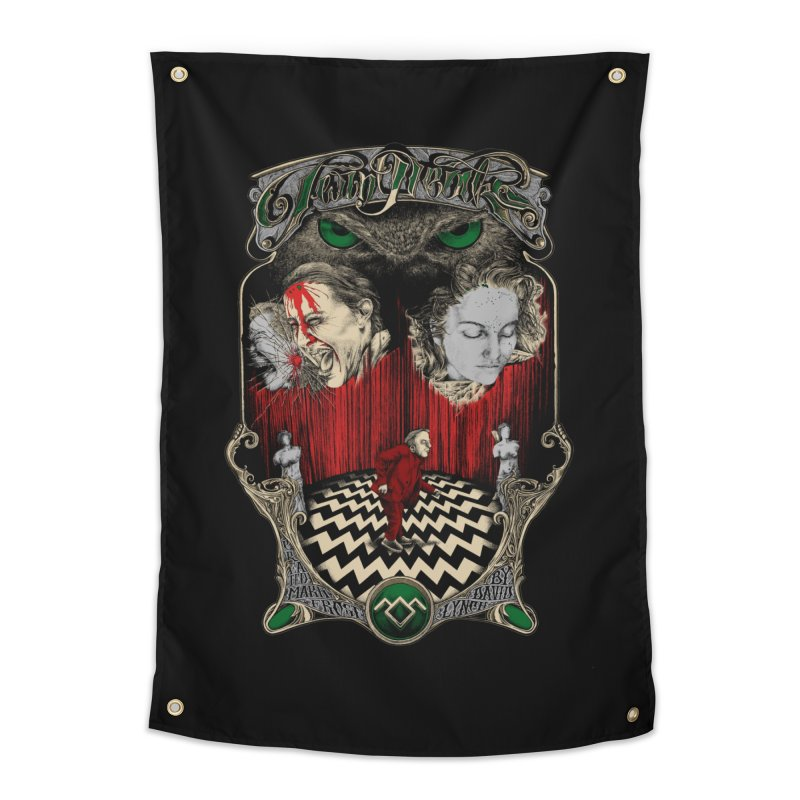 Twin Peaks Home Tapestry by Wiwitaek's Artist Shop