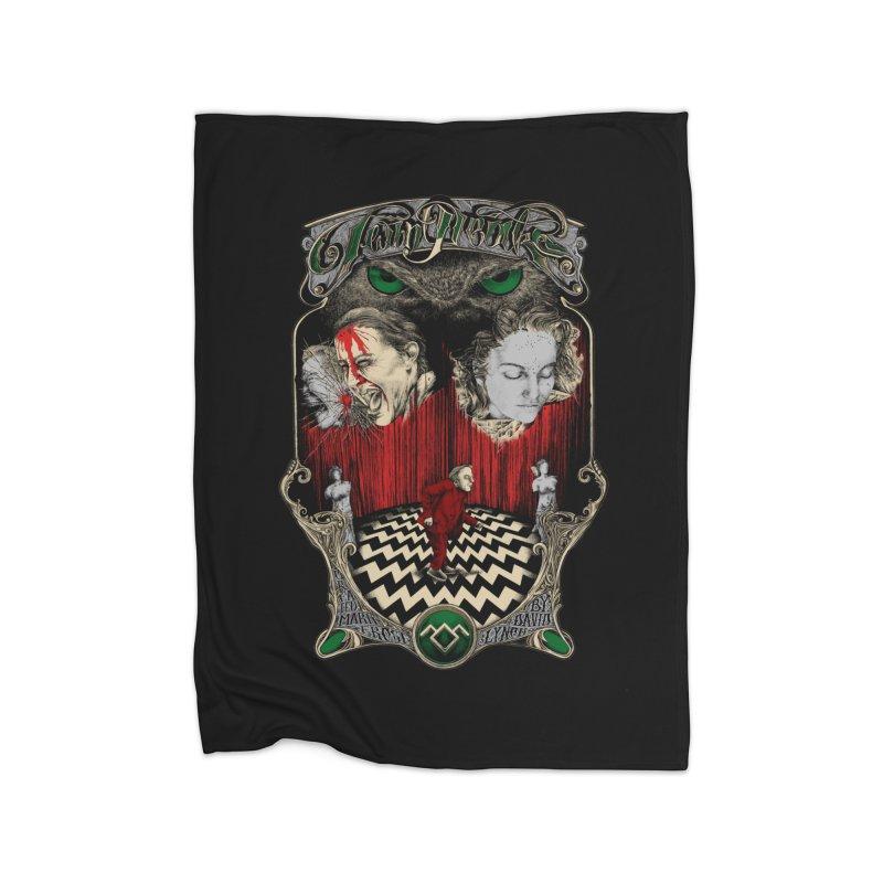 Twin Peaks Home Blanket by Wiwitaek's Artist Shop