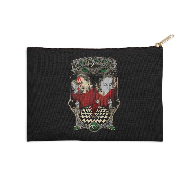 Twin Peaks Accessories Zip Pouch by Wiwitaek's Artist Shop