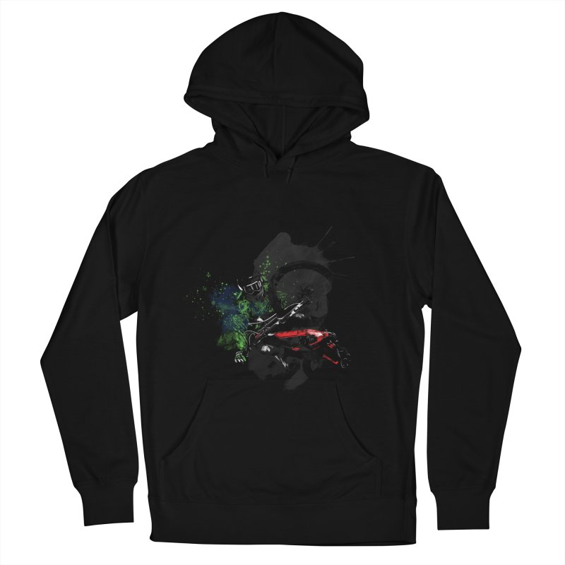 Over The Edge Women's Pullover Hoody by Wiwitaek's Artist Shop