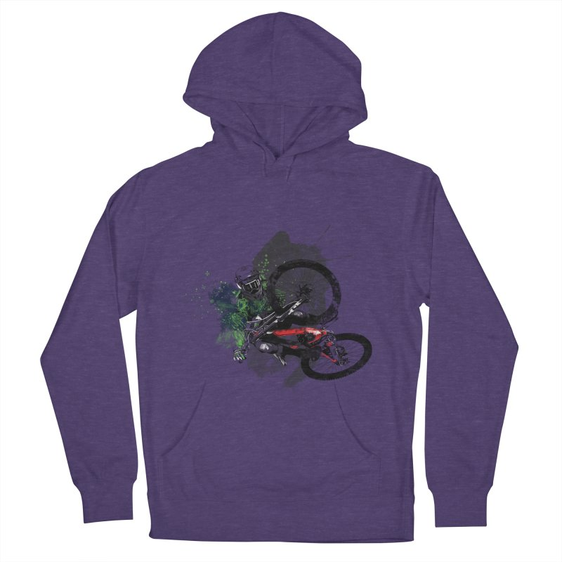 Over The Edge Men's Pullover Hoody by Wiwitaek's Artist Shop
