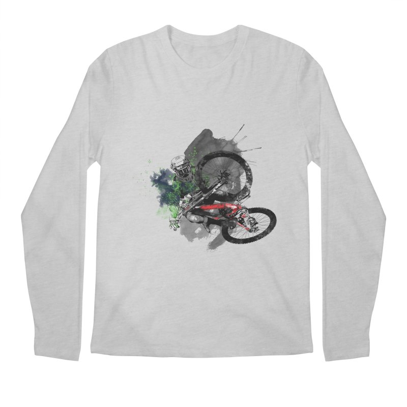 Over The Edge Men's Longsleeve T-Shirt by Wiwitaek's Artist Shop