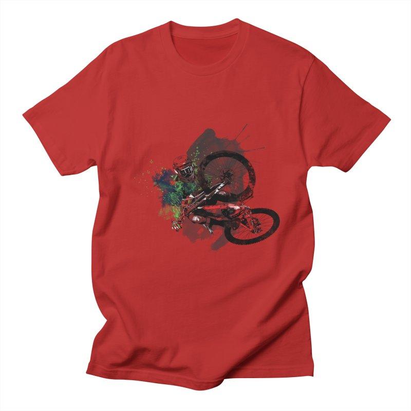 Over The Edge Men's T-shirt by Wiwitaek's Artist Shop