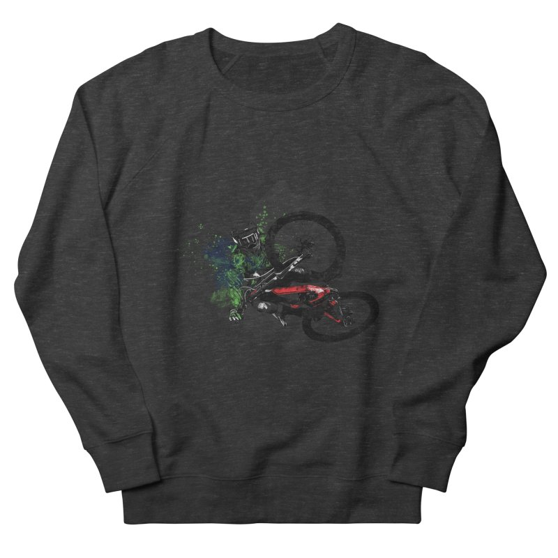 Over The Edge Men's Sweatshirt by Wiwitaek's Artist Shop