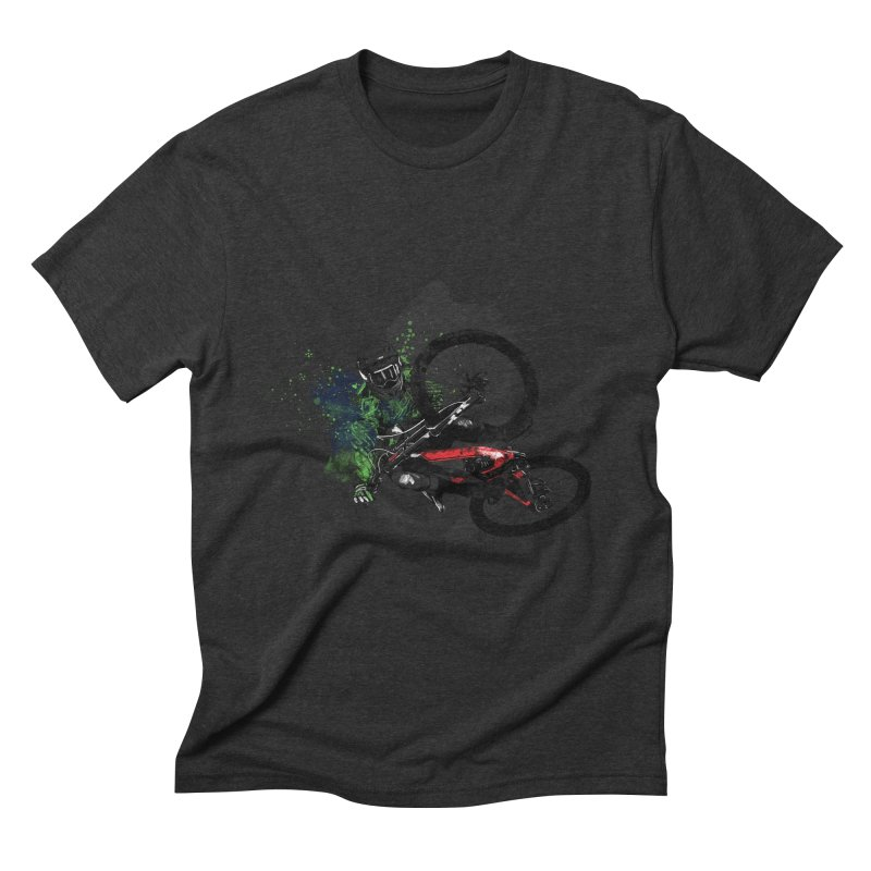Over The Edge Men's Triblend T-Shirt by Wiwitaek's Artist Shop