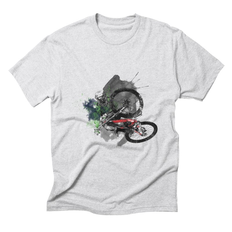 Over The Edge Men's Triblend T-shirt by Wiwitaek's Artist Shop