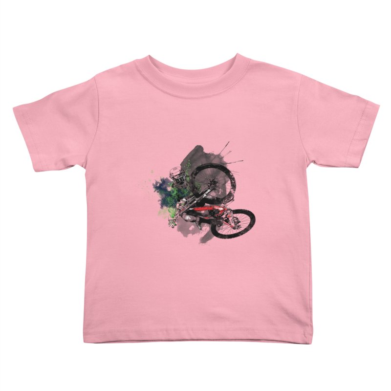 Over The Edge Kids Toddler T-Shirt by Wiwitaek's Artist Shop