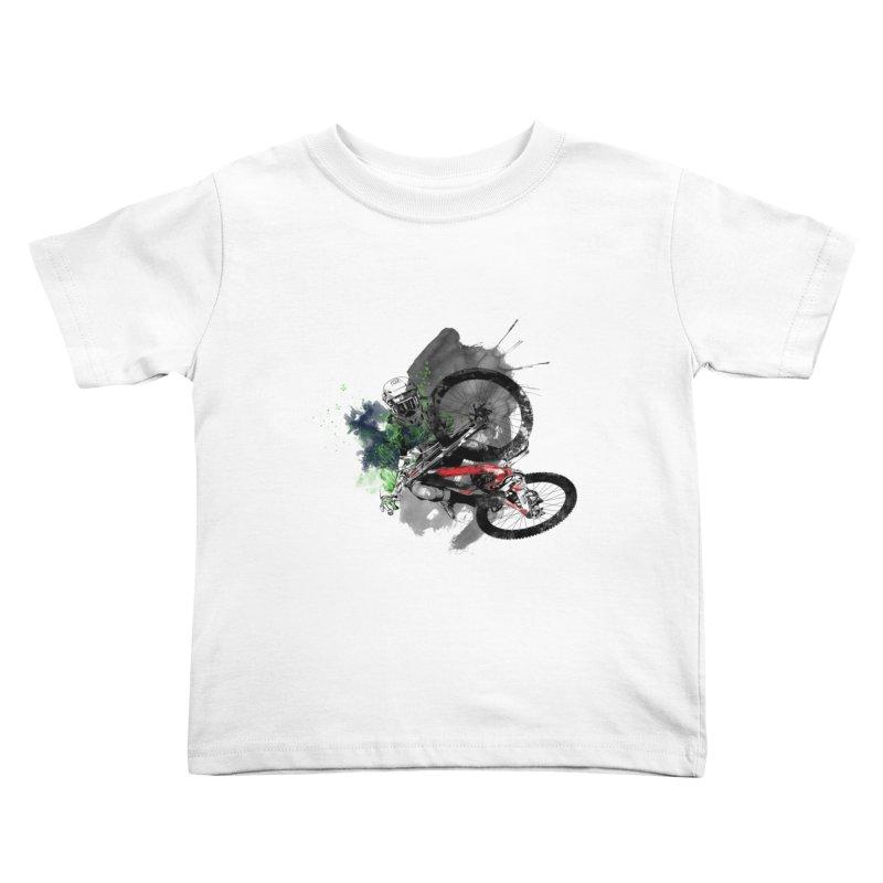 Over The Edge Kids Toddler T-Shirt by Wiwitaek's Artist Shop