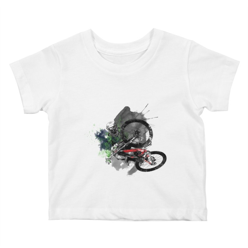 Over The Edge Kids Baby T-Shirt by Wiwitaek's Artist Shop