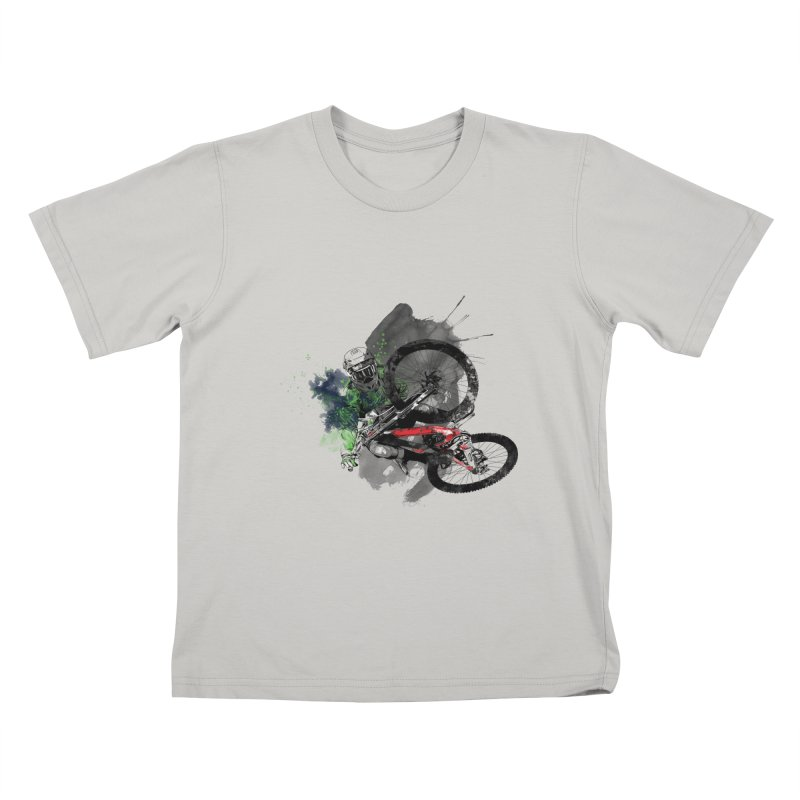 Over The Edge Kids T-Shirt by Wiwitaek's Artist Shop