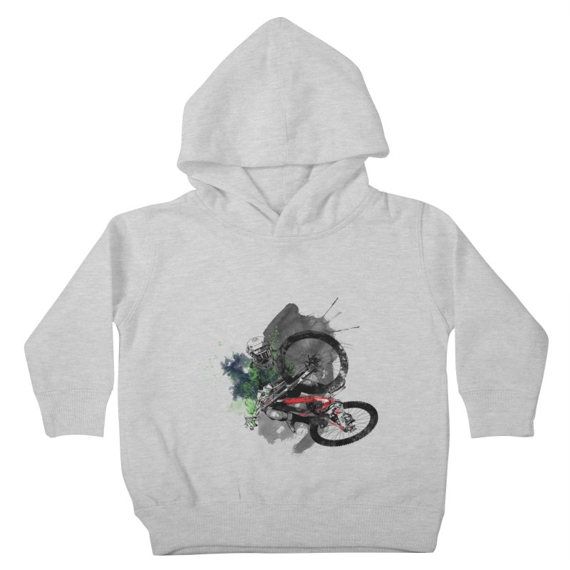 Over The Edge Kids Toddler Pullover Hoody by Wiwitaek's Artist Shop