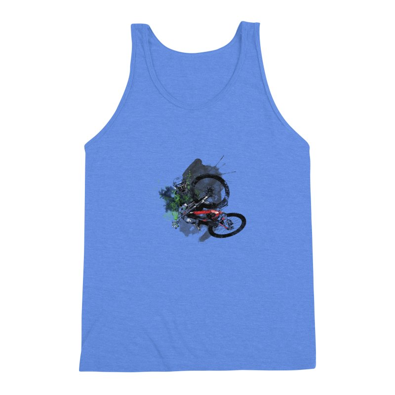 Over The Edge Men's Triblend Tank by Wiwitaek's Artist Shop