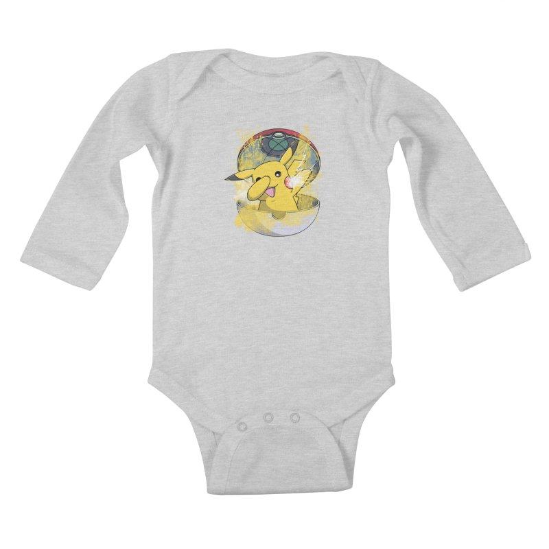 Go Out in Style Kids Baby Longsleeve Bodysuit by Wiwitaek's Artist Shop