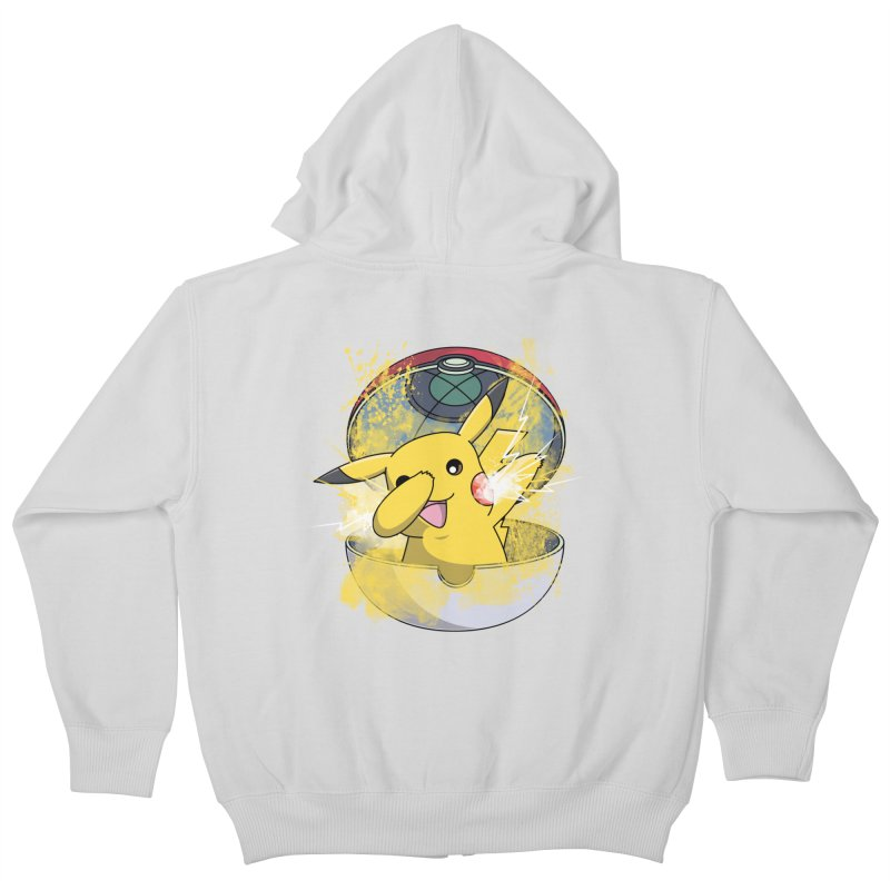 Go Out in Style Kids Zip-Up Hoody by Wiwitaek's Artist Shop