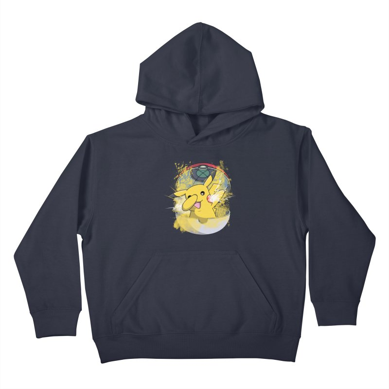 Go Out in Style Kids Pullover Hoody by Wiwitaek's Artist Shop