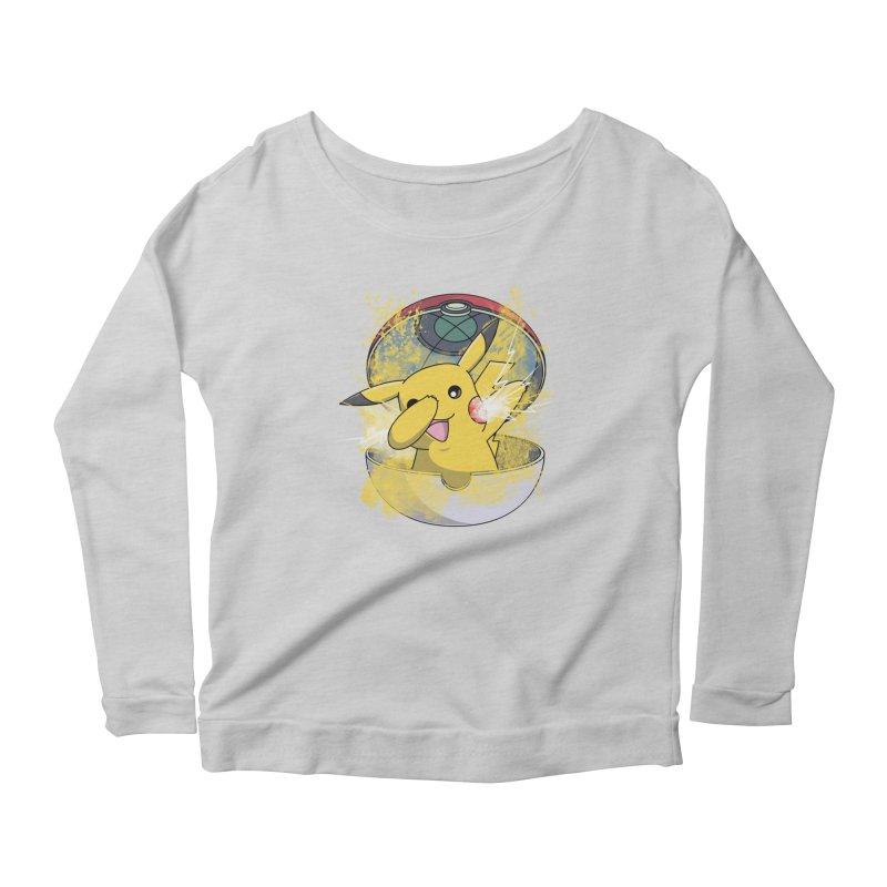 Go Out in Style Women's Longsleeve Scoopneck  by Wiwitaek's Artist Shop