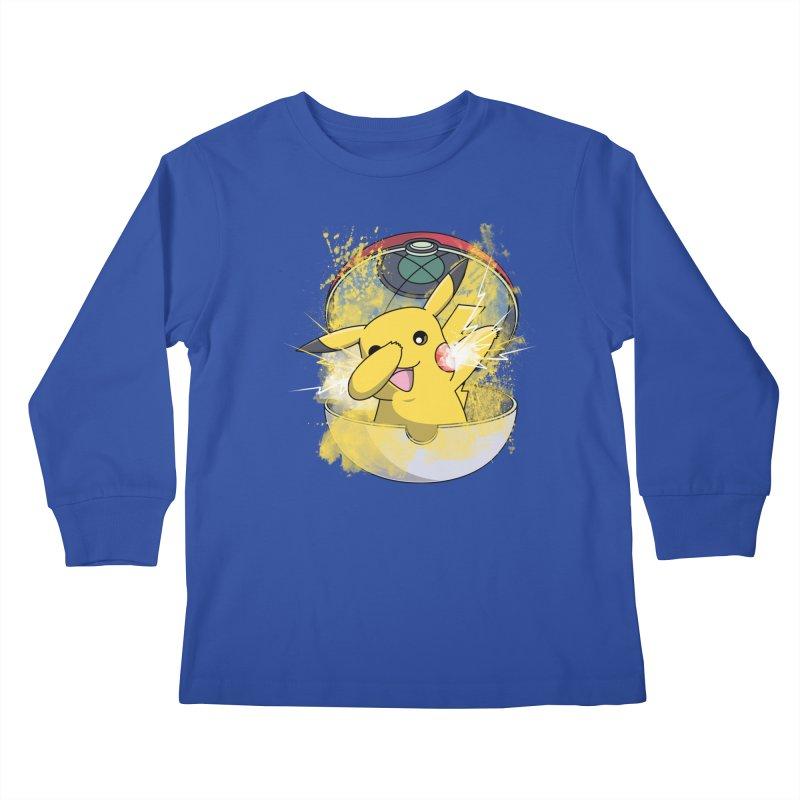Go Out in Style Kids Longsleeve T-Shirt by Wiwitaek's Artist Shop