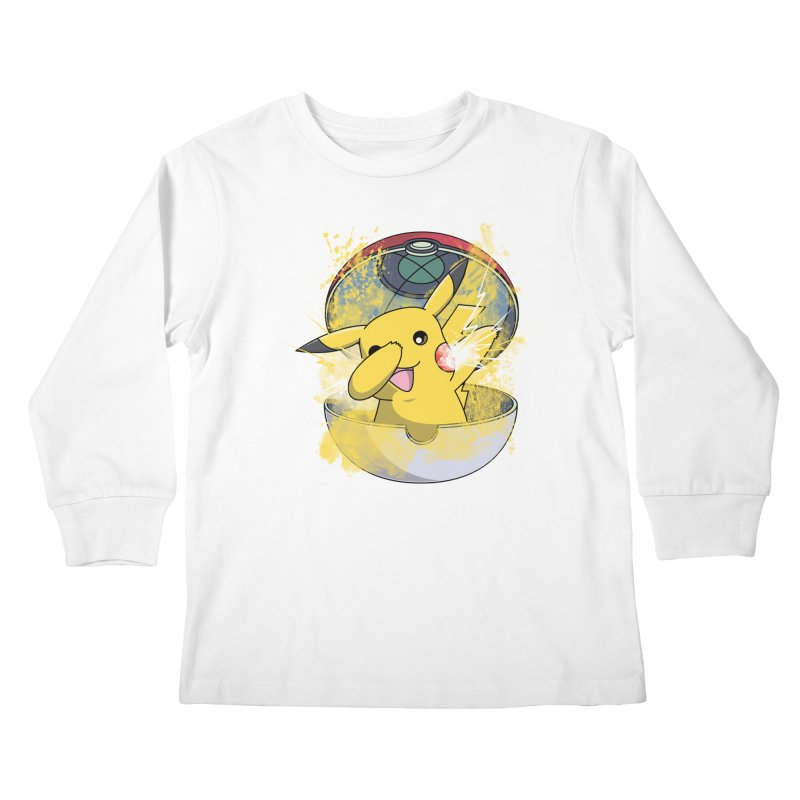 Go Out in Style Kids Longsleeve T-Shirt by Wiwitaek's Artist Shop