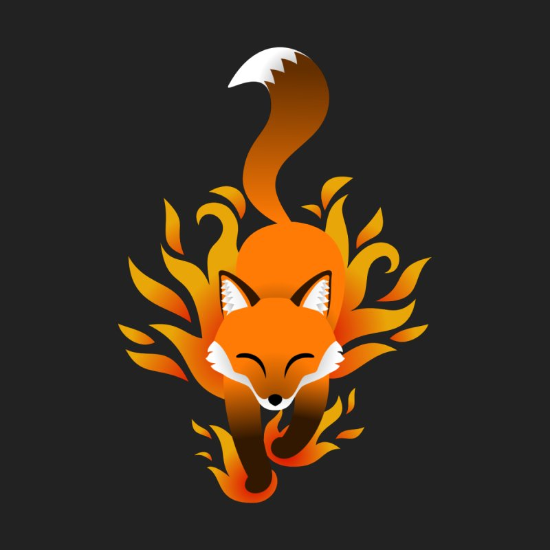 Fire Fox Kids Baby Bodysuit by Designs by WoollyRex