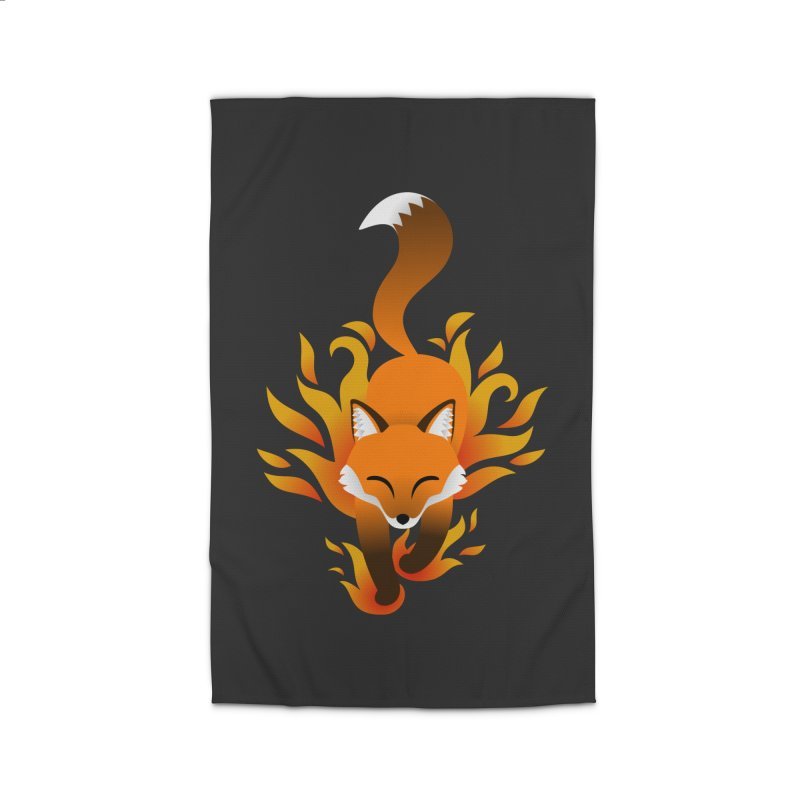 Fire Fox Home Rug by Designs by WoollyRex