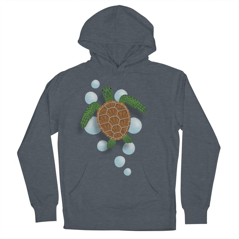 Sea Turtle Men's Pullover Hoody by Designs by WoollyRex