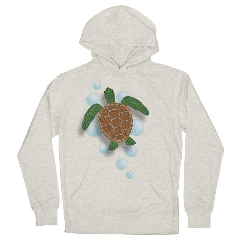 Sea Turtle Men's Pullover Hoody by Designs by WoollyRex