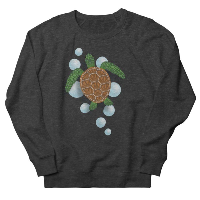Sea Turtle Women's French Terry Sweatshirt by Designs by WoollyRex