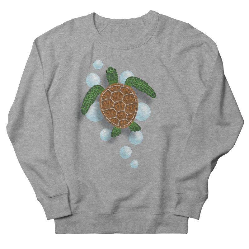 Sea Turtle Women's Sweatshirt by Designs by WoollyRex