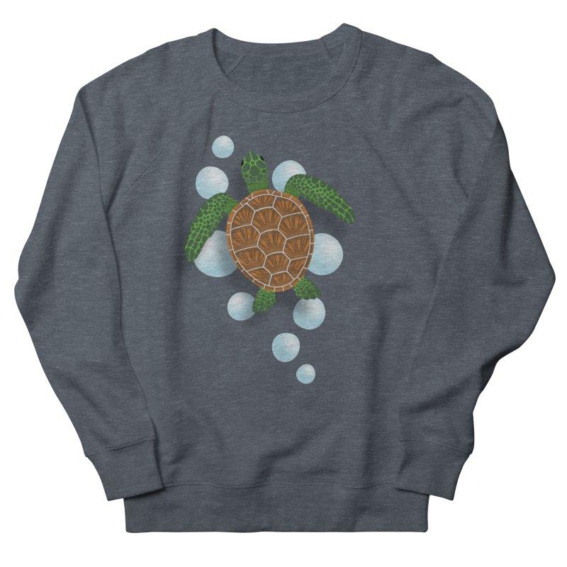 Sea Turtle Men's Sweatshirt by Designs by WoollyRex