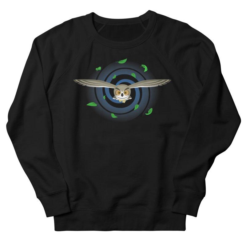 Wind Owl Women's Sweatshirt by Designs by WoollyRex