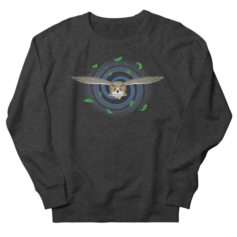 Wind Owl Men's Sweatshirt by Designs by WoollyRex
