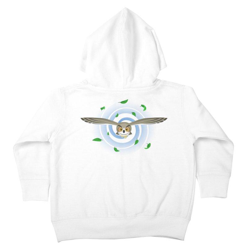 Wind Owl Kids Toddler Zip-Up Hoody by Designs by WoollyRex