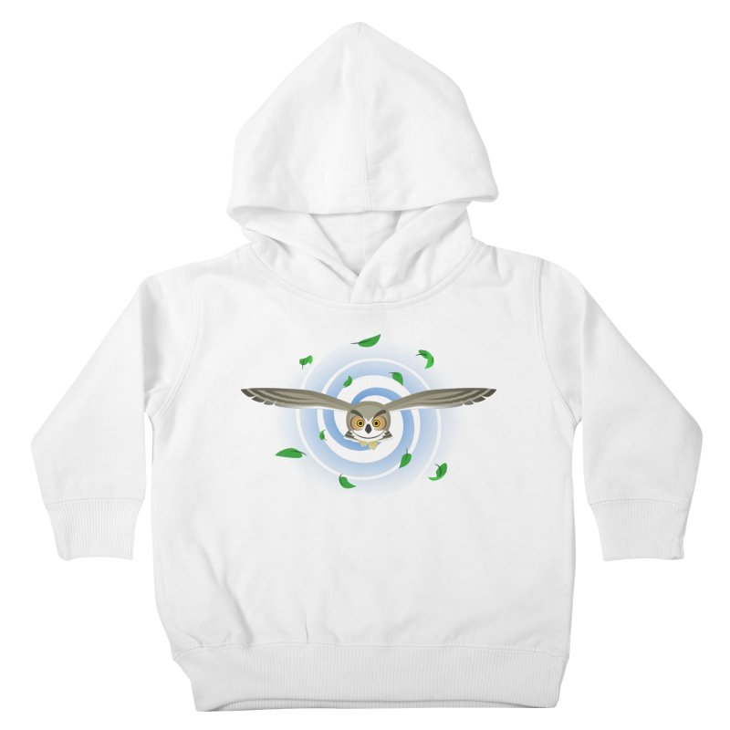 Wind Owl Kids Toddler Pullover Hoody by Designs by WoollyRex